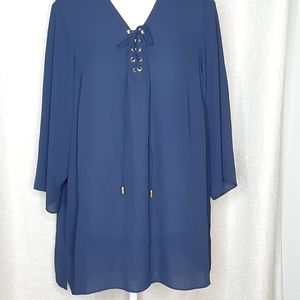 Violet & Claire   Loose Fitting Tunic   Size 1X